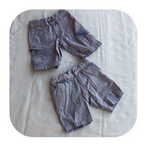 Other - 6/$15 2T Levi's & Nautica khaki shorts